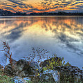 Sunrise On The Lake by Jaki Miller