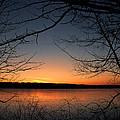 Sunrise On The Lake by Scott Wood
