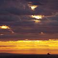 Sunrise On The Ocean by Marilyn Wilson