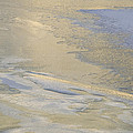 Sunrise On The River Ice #2 by David Stone