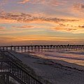 Sunrise On Topsail Island Panoramic by Mike McGlothlen