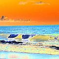 Sunrise On Tybee Island - Photopower 168 by Pamela Critchlow