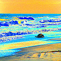 Sunrise On Tybee Island - Photopower 169 by Pamela Critchlow