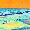 Sunrise On Tybee Island - Photopower 170 by Pamela Critchlow