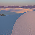 Sunrise On White Sands by Daniel Sherman