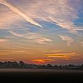 Sunrise Over Bartonsham by Rob Meredith