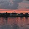 Sunrise Over Cape Fear River by Cynthia Guinn