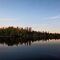 Sunrise Over Chena River by Lauri Novak