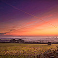 Sunrise Over Cornwall by Christine Smart