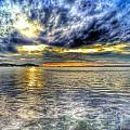 Sunset Over Lake Ontario by Erik Kaplan