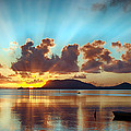 Sunrise Over Marine Corps Base Hawaii by Dan McManus