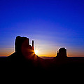 Sunrise Over Monument Valley by Susan Schmitz