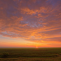 Sunrise Over Prairies by Alan Dyer