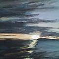 Sunrise Over Siguijor by Richard John Holden RA