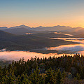 Sunrise Over The Adirondack High Peaks by Panoramic Images
