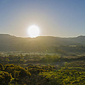 Sunrise Over The Bluestack Mountains - Donegal Ireland by Bill Cannon