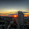 Sunrise Over Toronto by Ross G Strachan