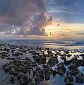 Sunrise Panorama by Debra and Dave Vanderlaan