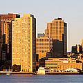 Sunrise, Skyline, Boston by Panoramic Images