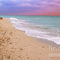 Sunrise Surf At Miami Beach  by Thomas Levine