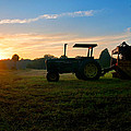 Sunrise Tractor by Scott Hansen