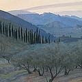 Sunrise Umbria 1914 by Sir William Blake Richmond