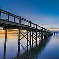 Sunrise Under The Boardwalk by Randy Scherkenbach