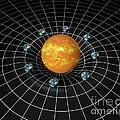 Sun's Gravity Well, Artwork by Carlos Clarivan