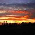 Sunset 02 28 13 by Joyce Dickens