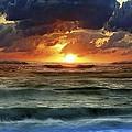 Sunset 12 by Ingrid Smith-Johnsen