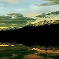 Sunset 1 Rainy Lake by Janie Johnson