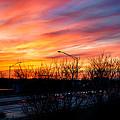 Sunset 11-14-13 2 by Michael  Bennett