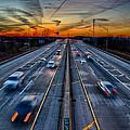 Sunset 11-22-13 003 by Michael  Bennett