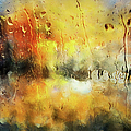 Sunset After The Storm Abstract by Georgiana Romanovna