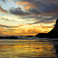 Sunset And Seal Rock by Diana Powell