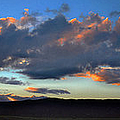 Sunset And Silhouettes - Panoramic by Glenn McCarthy