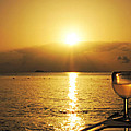 Sunset And Wine by Kimberly Perry
