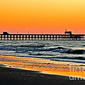 Sunset Apache Pier by Eve Spring
