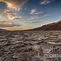 Sunset At Badwater Basin by Jennifer Magallon