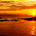 Sunset At Bic by Aimelle