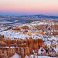Sunset At Bryce Canyon National Park Utah by Jason O Watson