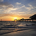 Sunset At Clearwater by Bill Cannon