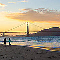 Sunset At Crissy Field With Golden Gate Bridge San Francisco Ca 5 by G Matthew Laughton