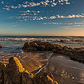 Sunset At Crystal Cove 12 by Angela Stanton