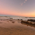 Sunset At Crystal Cove Hdr by Angela Stanton