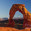 Sunset At Delicate Arch by Bob Phillips