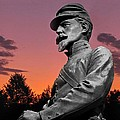 Sunset At Gettysburg  by David Dehner
