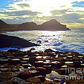 sunset at Giant's Causeway by Nina Ficur Feenan