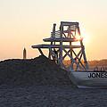 Sunset At Jones Beach by John Telfer
