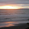 Sunset At Kalaloch by Kimberly Maxwell Grantier